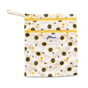 bee mine double pocket wetbag